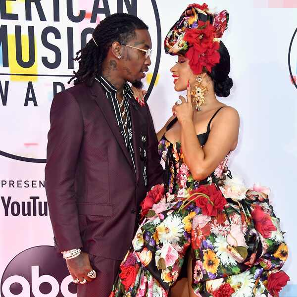 Offset, Cardi B, 2018 American Music Awards, 2018 AMAs